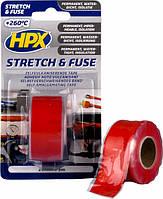 Лента вулканизирующая силиконовая HPX 25 мм х 3 м красная (блистер) SO2503