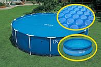 Тент intex 29022 с антиохлаждением для бассейнов 366 см, фото 1