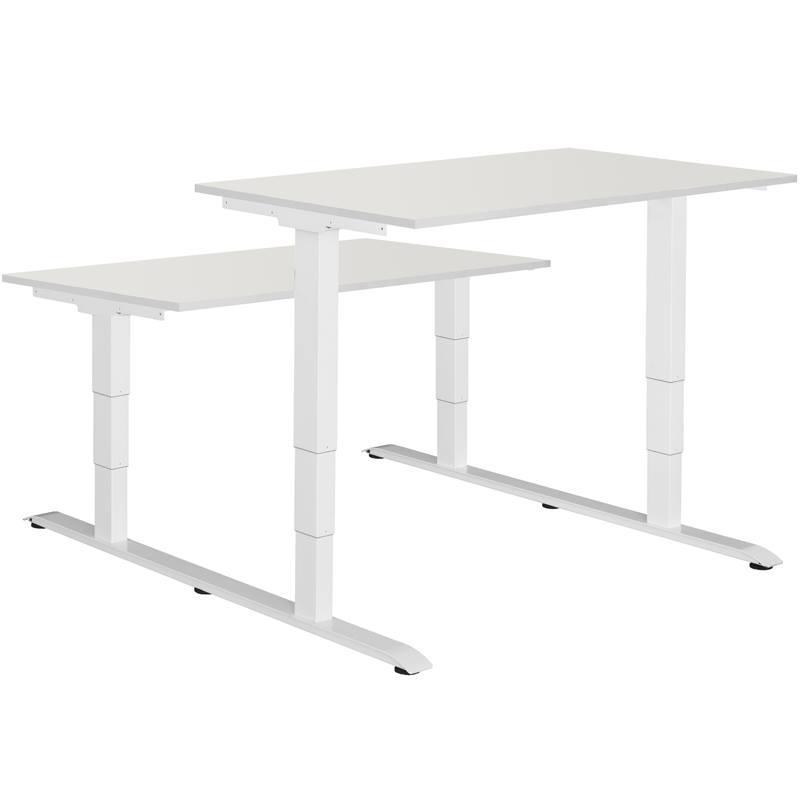 Master double workplace Эргономичный стол для работы стоя и сидя регулируемый по высоте электроприводом