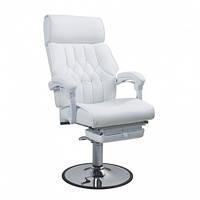 Педикюрное кресло с выдвижной цельной подножкой ZD-991