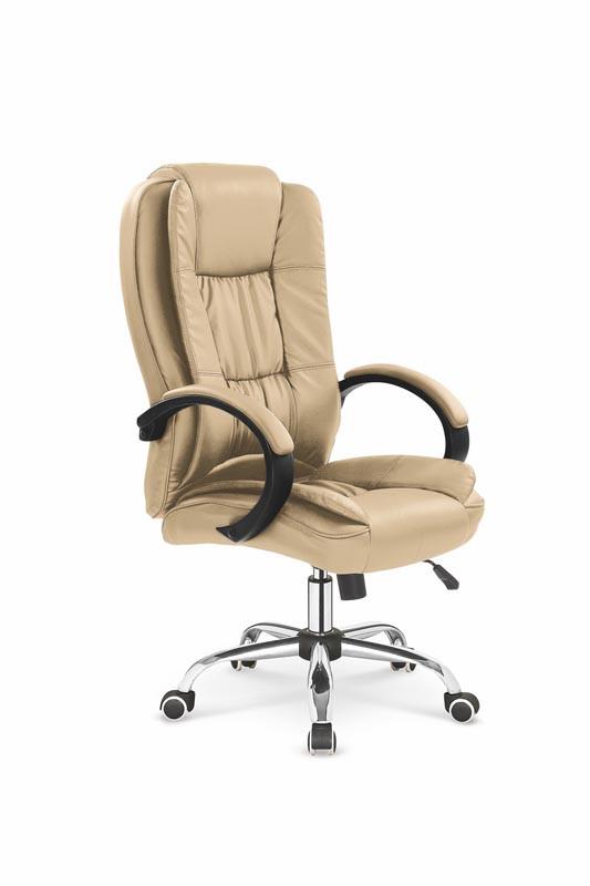 Крісло комп'ютерне RELAX бежевий (Halmar)