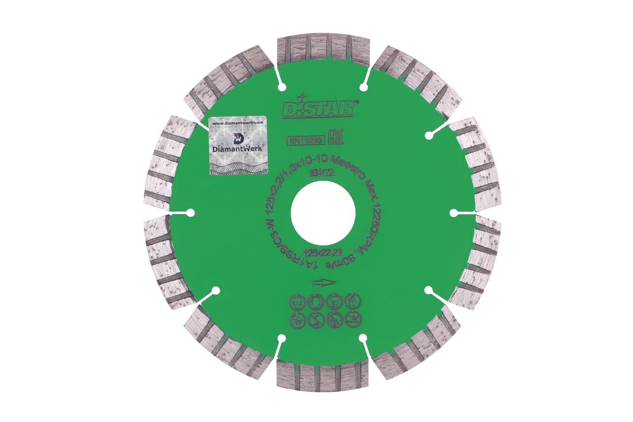 Круг алмазний відрізний 1A1RSS / C3-W 125x2,2 / 1,3x10x22,23-10 Maestro