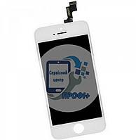 Дисплей IPhone 5s / SE high copy  белый