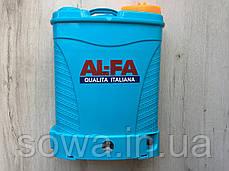 ✔️ Акумуляторний садовий обприскувач AL-FA Profi | 16L, 15A.h, фото 2