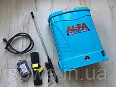 ✔️ Аккумуляторный садовый опрыскиватель AL-FA Profi | 16Л, фото 3