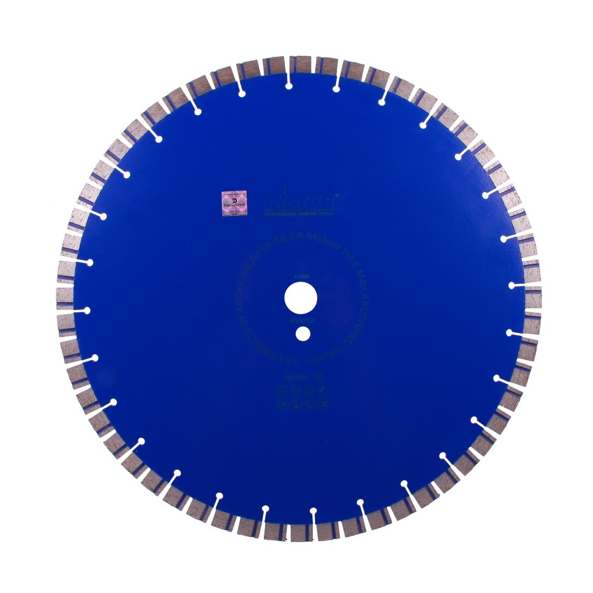 Круг алмазний відрізний 1A1RSS / C3-W 400x3,5 / 2,5x15x25,4-56 F4 Meteor H15