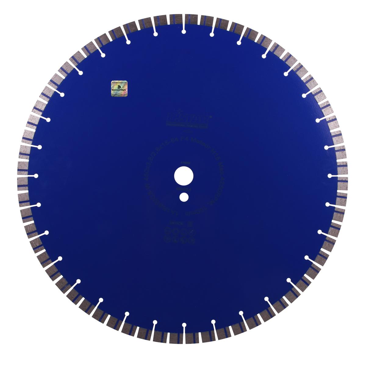 Круг алмазний відрізний 1A1RSS / C3-W 450x3,8 / 2,8x15x25,4-64 F4 Meteor H15