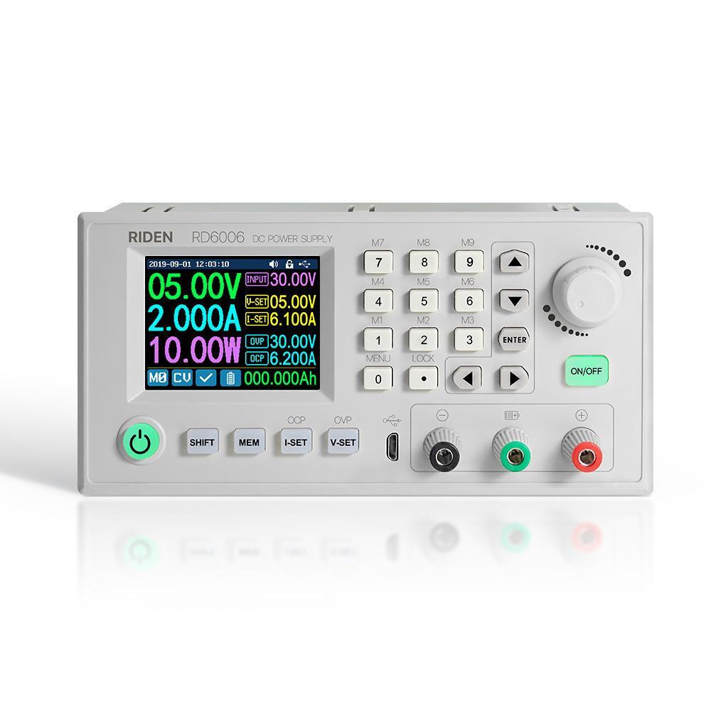 Панель управления (понижающий преобразователь 60В, 6A) ЛБП RD6006
