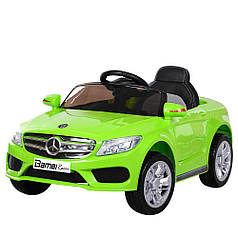 Детский электромобиль Bambi Mercedes M 2772 EBLR салатовый
