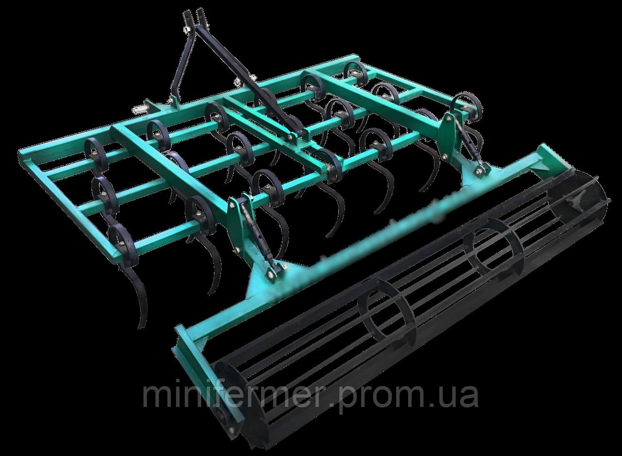Культиватор КН-1.6П пружинный с катком для минитрактора