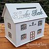 Коробка для грошей у формі будинку!