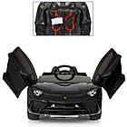 Детский электромобиль Lamborgini Avendator SV  M 3903EBLR-2 Черный, фото 2