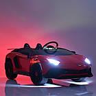 Детский электромобиль Lamborgini Avendator SV  M 3903EBLR-2 Черный, фото 5