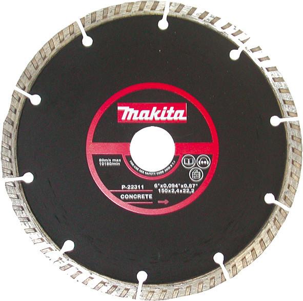 Алмазний диск 150 мм Makita (P-22311)