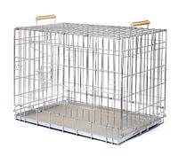 Аренда Клетка для собак и кошек ВОЛК-1 ВОВК-1, 91,5*61*72 см