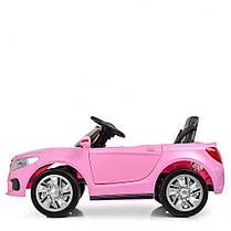 Детский электромобиль Bambi Mercedes M 2772 EBLR розовый, фото 2