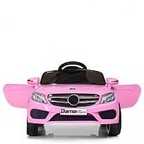 Детский электромобиль Bambi Mercedes M 2772 EBLR розовый, фото 3