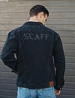Чоловіча джинсова куртка Staff black c2