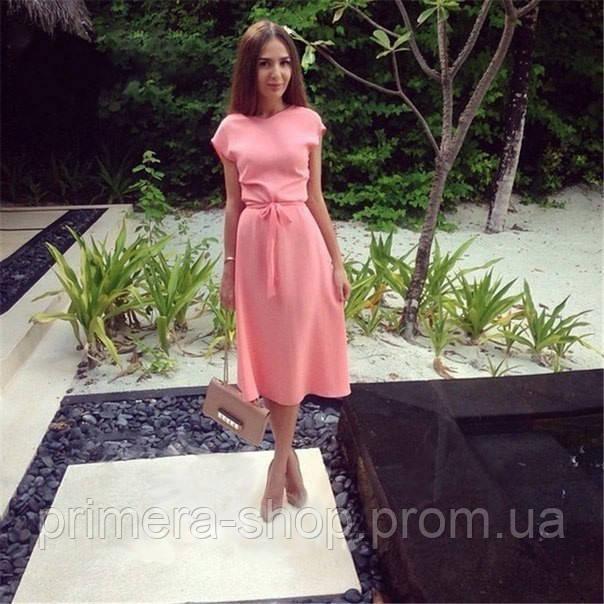 b1822b0159cc5e8 Нежно - розовое платье