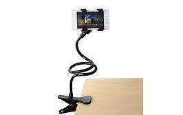 Держатель универсальный для телефона с прищепкой, подставка держатель для телефона