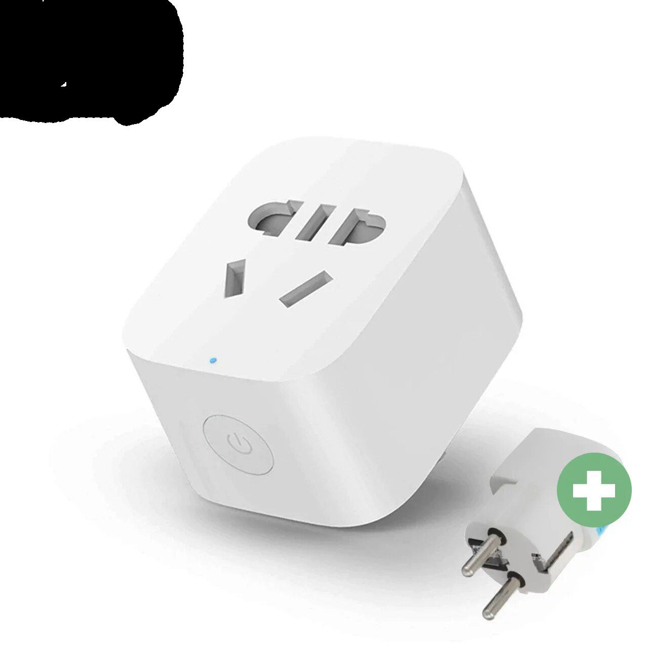 Умная розетка Xiaomi MiJia Smart Socket 2 Wi-Fi ZNCZ04CM Белый