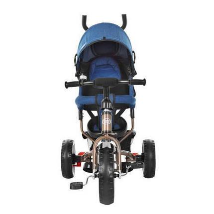 Трехколесный детский велосипед Turbo Trike M 3113J-13 с родительской ручкой, фото 2