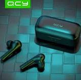 Бездротові навушники QCY - T5 In1933 Xiaomi TWS навушники вкладиші бездротові Bluetooth, фото 5