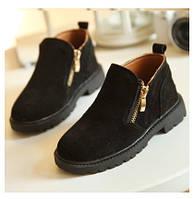 Крутые замшевые ботинки в 3-х цветах