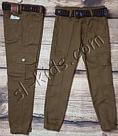 Джоггеры для мальчика 8-12 лет(коричневые) опт пр.Турция