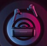 Бездротові навушники QCY - T5 In1933 Xiaomi TWS навушники вкладиші бездротові Bluetooth, фото 6