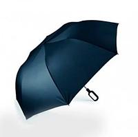 Складаний парасолька Mini Hook з ручкою-крюком, синій, фото 1