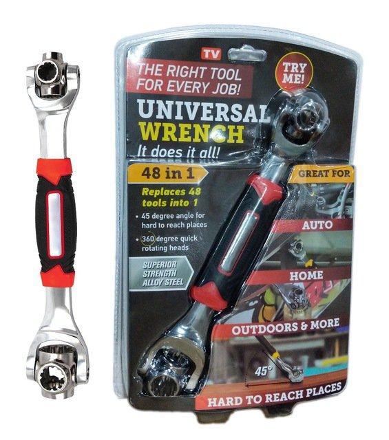 Універсальний ключ 48 в 1 Tiger Wrench Universal