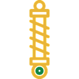 Амортизатор передний