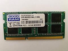 Оперативная память (DDR3 8GB) - GOOD RAM 8GB PC3L-12800