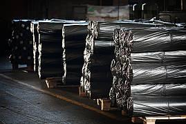 Пленка полиэтиленовая вторичная чёрная 60 мкм (3 м х 100 м.п.)