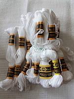Мулине ПНК им. Кирова, 20 м., белые, фото 1