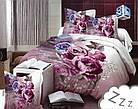 Комплект постельного белья Микроволокно HXDD-806 M&M 9285 Розовый, Кремовый, фото 2
