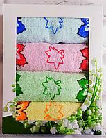 Набор полотенец кухонных для рук махра 50х25 раз 4 шт (Q-567), фото 1