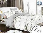 Комплект постельного белья Микроволокно HXDD-809 M&M 1479 Кремовый, Серый, фото 2