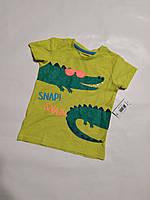 Футболка для мальчика Крокодил Matalan р.104см (3-4года)