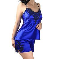 Женская атласная пижама Валерия S-5XL