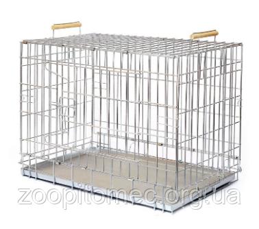 Аренда Клетка для собак и кошек ВОЛК №3 (ВОВК-3), 124*78*71см
