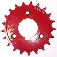 Зірочка 509.046.4073-01 опорно-приводного колеса (СУПН 8-а, УПС, ССТ) z=21, d=40