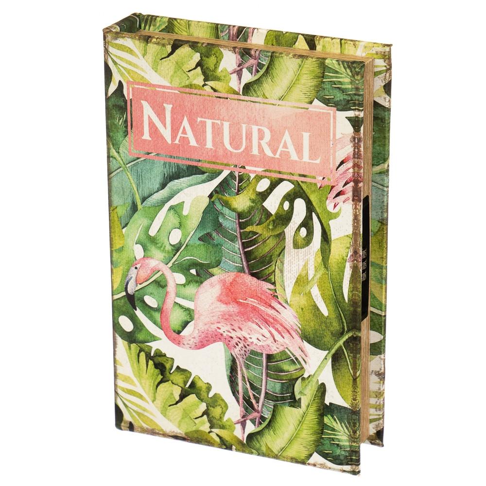 """Книга-сейф """"Фламинго"""" (26*17*5 см)"""