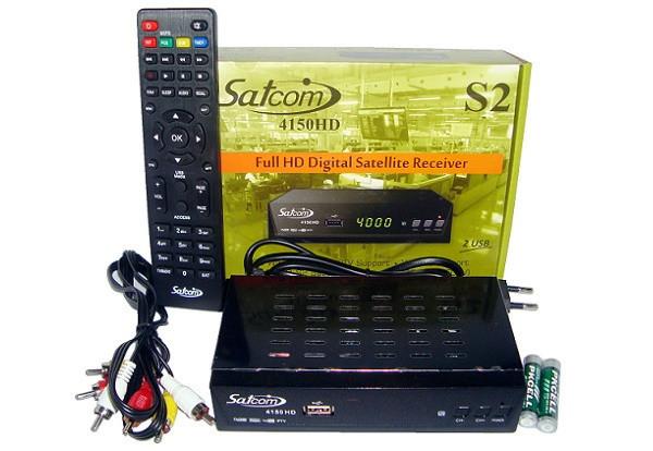 Супутниковий ресивер Satcom 4150 HD Dolby Digital AC3