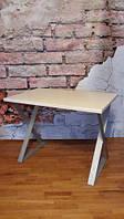 Стол обеденный, письменный 120*60 см Loft (Лофт) (стол 10), фото 1