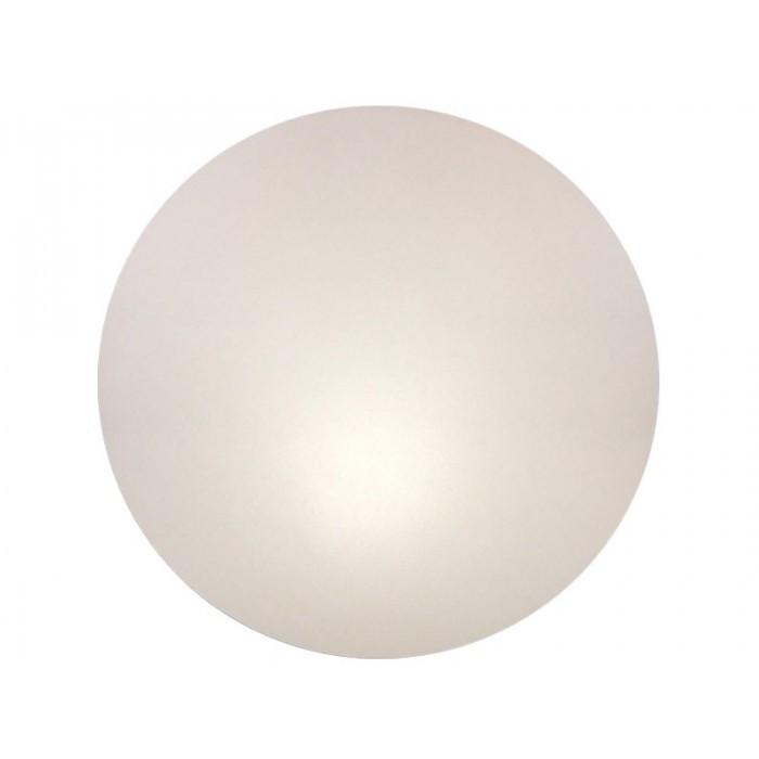 Столешница для стола Кипр, толщина 25 мм, круглая, диаметр 60 см, цвет белый