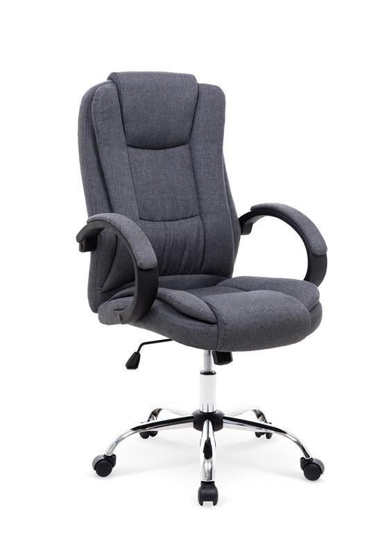 Крісло комп'ютерне RELAX 2 сірий (Halmar)
