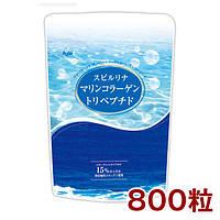 ALGAE Японская спирулина с морским коллагеном и витамином С, 800 шт