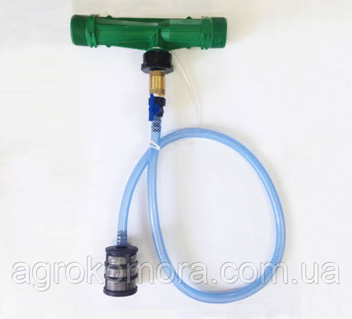 Інжектор 1″ типу «Вентурі» Irritec (Італія) з набором для внесення добрив